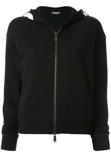 Dsquared2 logo trim hoodie
