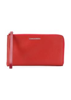 Dsquared2 logo zipped wallet