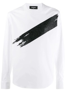 Dsquared2 long shirt sleeved T-shirt