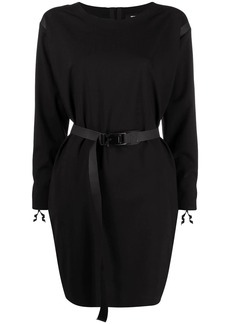 Dsquared2 long-sleeve belted dress