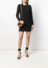 Dsquared2 long-sleeved shift dress