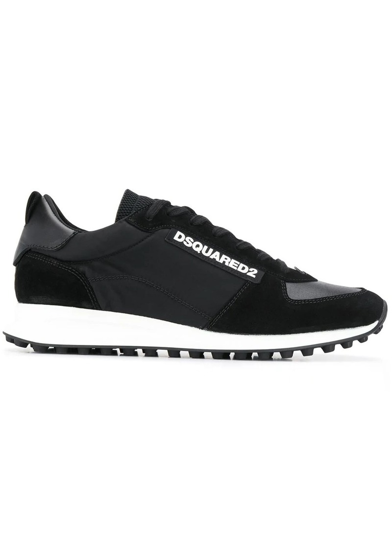 Dsquared2 low panelled runner sneakers