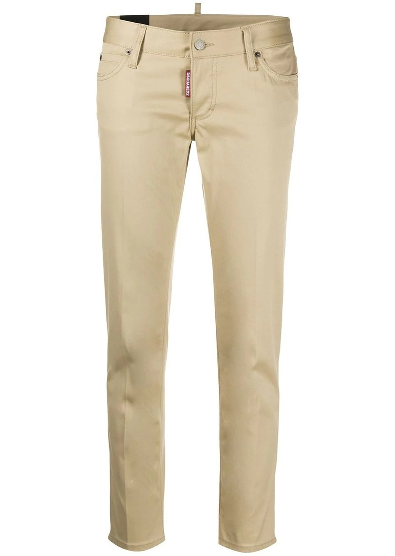 Dsquared2 low-rise slim-fit trousers