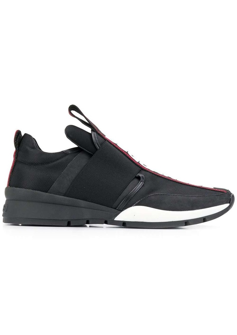 Dsquared2 low top tape sneakers