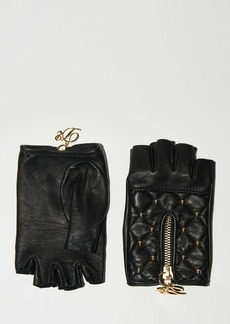 Dsquared2 Lvr Exclusive Fingerless Leather Gloves