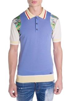 Dsquared2 Main Hawaiian Polo Shirt