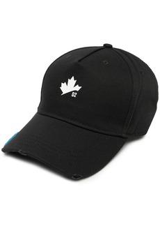 Dsquared2 maple leaf baseball cap