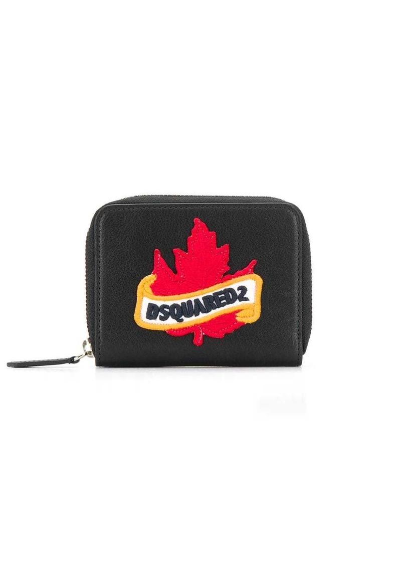 Dsquared2 maple leaf logo wallet