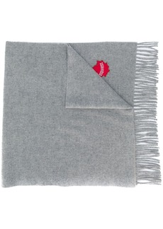 Dsquared2 maple leaf scarf