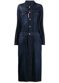 Dsquared2 maxi denim dress