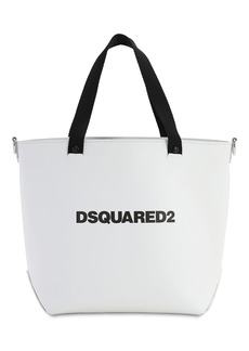 Dsquared2 Medium D2 Leather Tote Bag