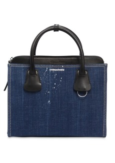 Dsquared2 Medium Deana Denim Top Handle Bag