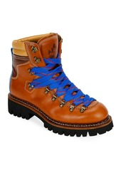 Dsquared2 Men's Leather Lace-Up Hiking Boots