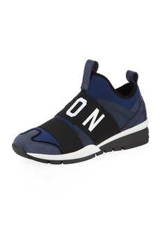 Dsquared2 Men's Neoprene & Leather Trainer Sneakers
