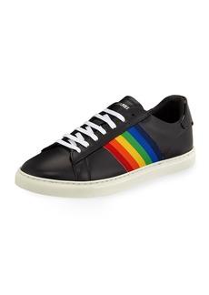 Dsquared2 Men's Rainbow-Stripe Low-Top Sneakers