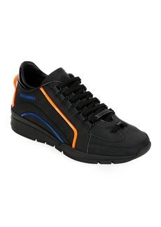 Dsquared2 Men's Tonal w/Neon Trainer Sneakers