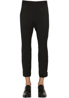 Dsquared2 Mercury Biker Stretch Wool Cady Pants