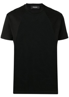 Dsquared2 mesh panel T-shirt