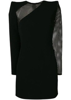 Dsquared2 mesh panels mini dress