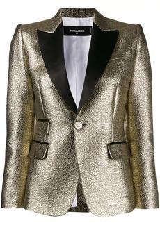 Dsquared2 metallic blazer