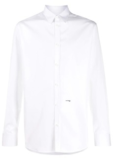 Dsquared2 micro-logo print relaxed fit shirt