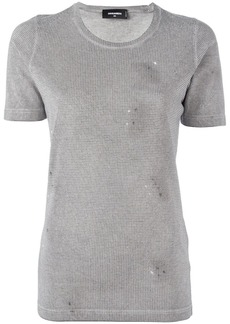 Dsquared2 microstud accent T-shirt
