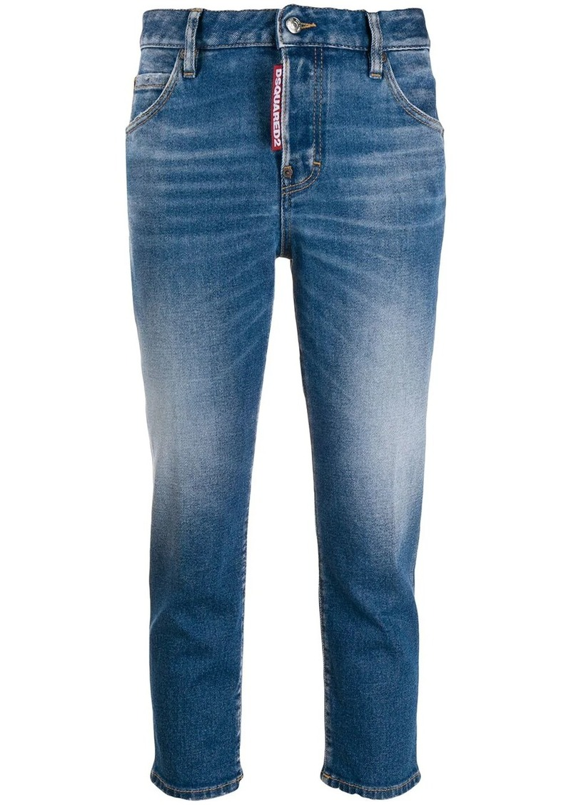 Dsquared2 mid-rise cropped leg jeans