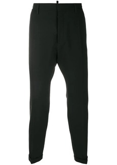 Dsquared2 mid-rise tapered trousers