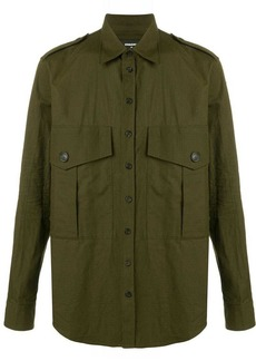 Dsquared2 military shirt