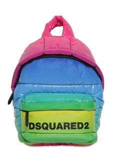 Dsquared2 Miss Logo Rainbow Vinyl Backpack
