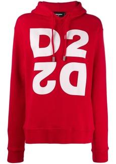 Dsquared2 monogram hooded sweatshirt