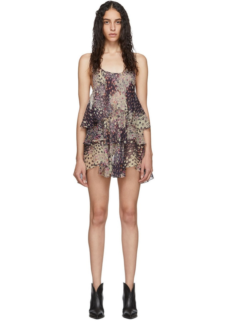 Dsquared2 Multicolor Silk Ophelia Dress