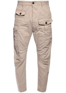 Dsquared2 Multipocket Cotton Twill Cargo Pants
