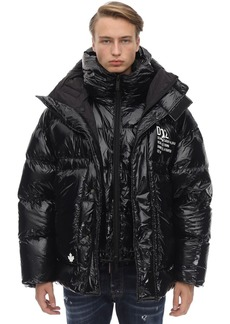Dsquared2 Nylon Double Hood Down Jacket