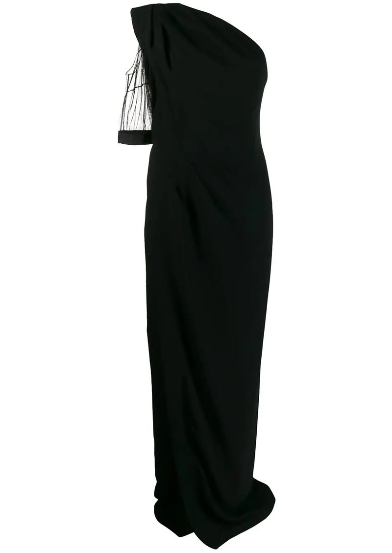 Dsquared2 one shoulder long dress