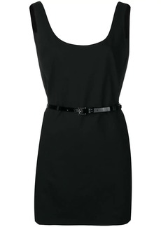 Dsquared2 open back short dress