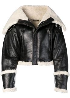 Dsquared2 oversized biker jacket