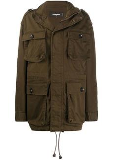 Dsquared2 oversized cargo jacket
