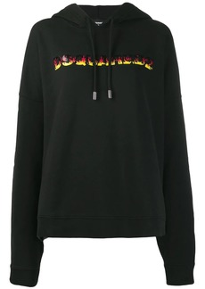 Dsquared2 oversized logo hoodie