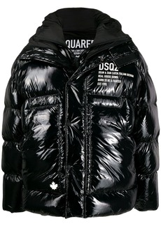 Dsquared2 oversized puffer coat