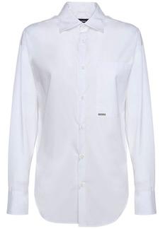 Dsquared2 P-pkt College Cotton Poplin Shirt