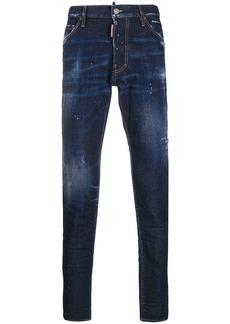 Dsquared2 paint splatter effect jeans