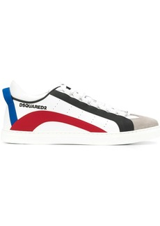 Dsquared2 colour-block panelled sneakers