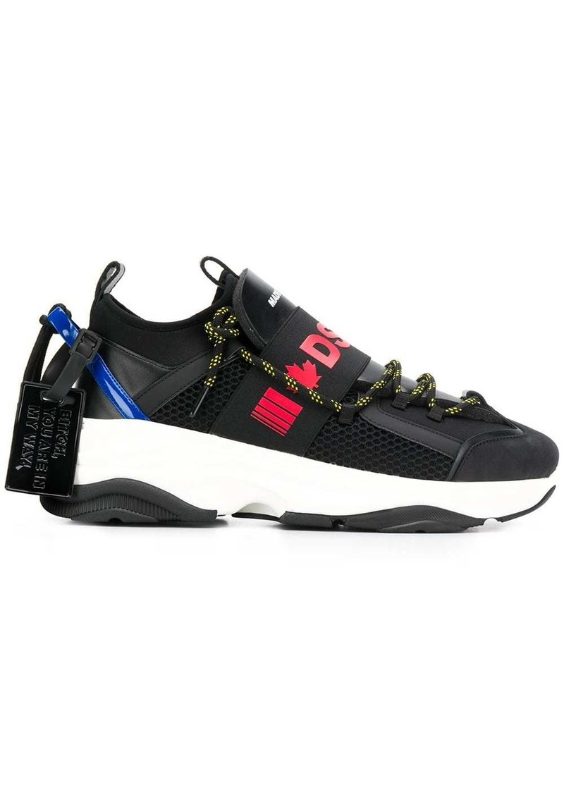 Dsquared2 panelled sneakers
