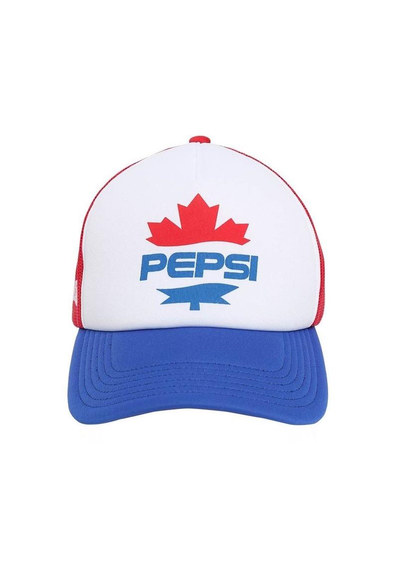 Dsquared2 Pepsi Print Baseball Cap