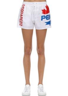 Dsquared2 Pepsi Print Swim Shorts