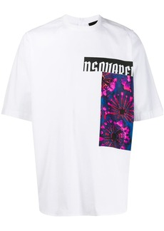 Dsquared2 photographic print T-shirt