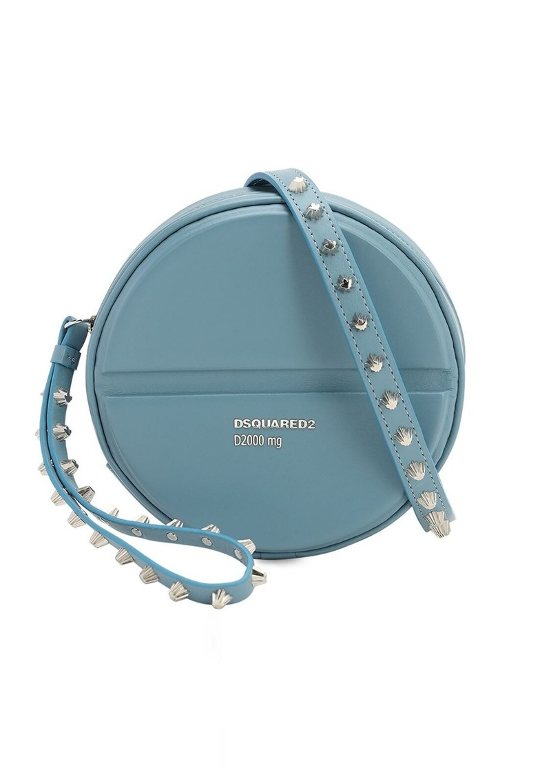 Dsquared2 Pills Round Leather Bag