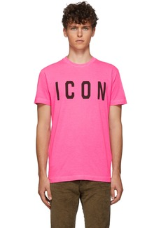 Dsquared2 Pink Cool Fit T-Shirt