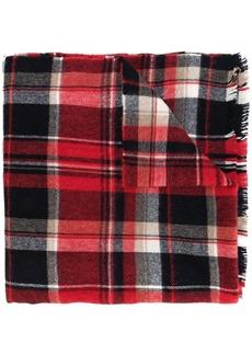 Dsquared2 plaid scarf